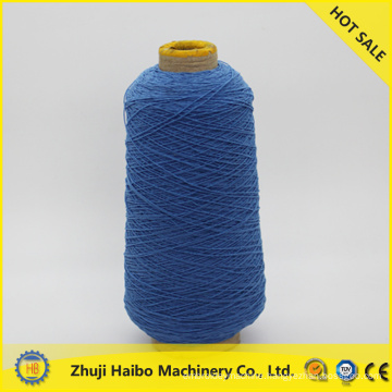 2015 professional spandex covered yarn,polyester spun yarn supplier for socks knitting yarn