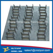 Plaques de réparation en acier galvanisé