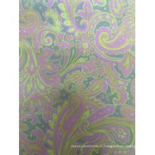 Vente de tissu de doublure en polyester imprimé