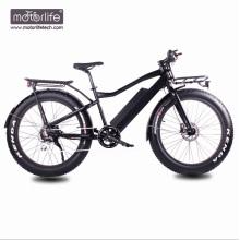 Bicicleta eléctrica de la nieve del precio bajo 36v750w del neumático gordo, bici eléctrica hecha en China, bicicletas eléctricas de las baterías grandes Venta caliente