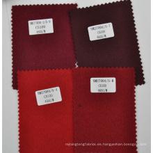 Rojo burdeos 100% tela de manta de cachemira al por mayor