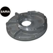 Carcaça de gravidade permanente de alumínio para flanges com usinagem de precisão