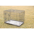 Hot Sell Two Doors Large Dog Cage