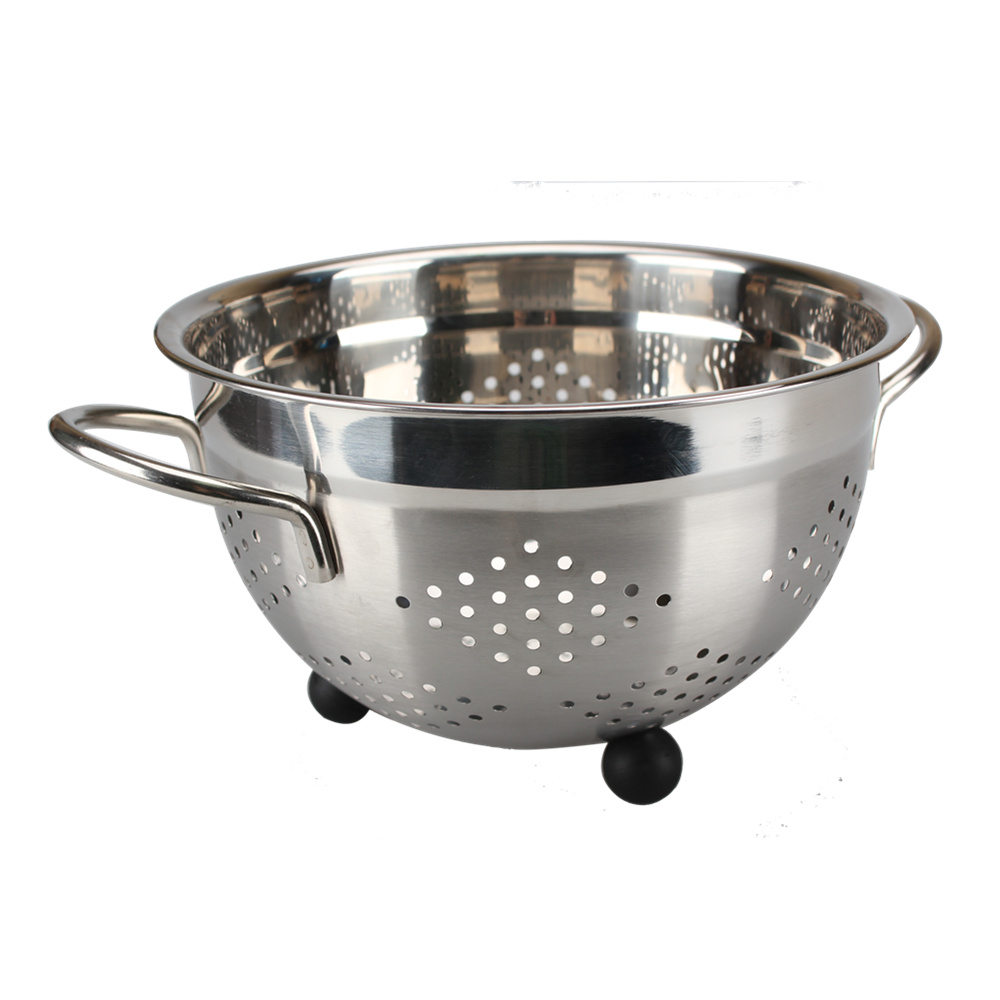 For Kitchen Stainless Steel Colander