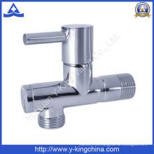 Taizhou Yuhuan válvula de ángulo de latón de 1/2 pulgadas (YD-5036)