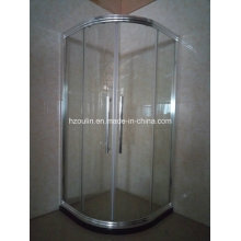 Chromed Shiny Shower Room Enclosure with Big Aluminum Frame (E-01 Big aluminum)