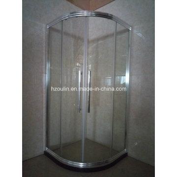 Chromed Shiny Shower Room Enclosure with Big Aluminum Frame (E-01 Big aluminum)