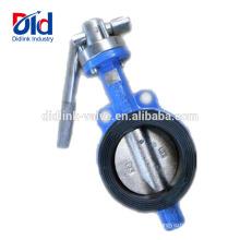 Вафельный двойной эксцентричный электрический фланец с питанием от источника питания Вулканизированный гаечный ключ Клапан-бабочка Dn200
