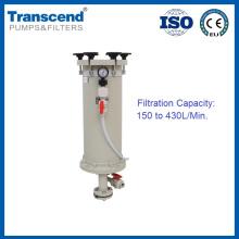 HL 150L / Mín.-430L / Min. Carcaça de filtro químico