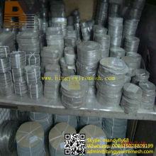 Malla de filtro de tela de alambre de acero inoxidable