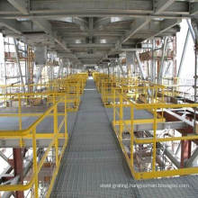 Hot DIP Galvanized Steel Railings for Grating Platform and Trench