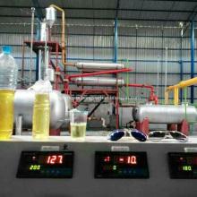 Planta automática de destilación y petróleo crudo