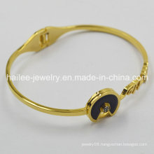 New Jewelry 2015 Gold Plated Bangles Artificial Bangles