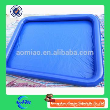 0,9mmPVC piscine gonflable de haute qualité pour jeu d'eau