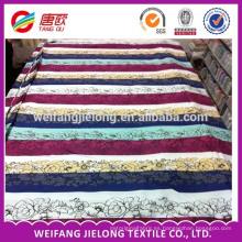 nueva alta calidad al por mayor de alta calidad del diseño tela del lecho de la tela cruzada del algodón del 100%