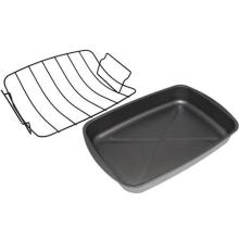 Non-Stick Coating Metal Wire Turkey Roaster Rack