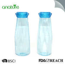 620ML Diamond Cup Bottle Transparent Plastic Student
