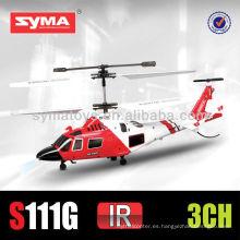 SYMA S111G avión de simulación por infrarrojos, Mini MH-68A Coast Guard