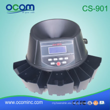 CS901 Electronic Automatic Euro/USD/Mexico Coin Counter Coin Sorter