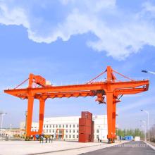 wheels travelling shipyard double beam gantry cranes