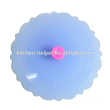 Promotion OEM Gift Anti-dust Suction Sealing Coffee Tea Mug Silicone Cup Lid Cover,Silicone Bowl Cover