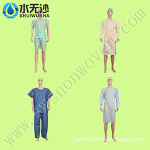 Disposable Nonwoven Surgical Gown / Nurse Uniform