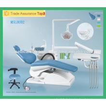 MSLDU02M Beliebte zahnärztliche Stuhl beste zahnärztliche Ausrüstung mit CE & ISO