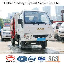 2cbm JAC Euro 5 Бензиновый бензиновый бочонок Висящий мусорный транспорт Грузовик
