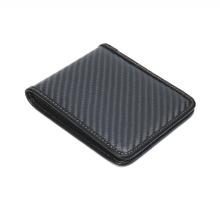 Sợi carbon Bifold Wallet bền RFID chặn