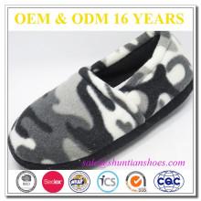 Inverno confortável camo camuflagem material chinelo sapato para criança e adulto