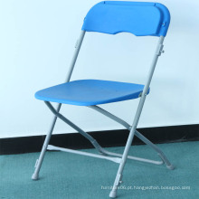 Cadeira plástica de dobramento exterior comercial de Orizeal