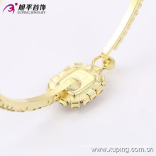 Мода элегантный 14k золото покрытием женщин Браслет со стразами в окружающую среду меди 51401