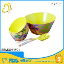 набор популярных продажи небьющиеся меламин посуда Дубай