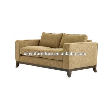2015 new design popular hotel lobby fabric sofa XY3381