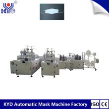 KYD Tipo de Barco Desechable Máscara que hace la máquina