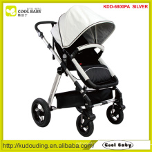 2015 NEW White Canopy Baby Stroller China Manufacturer Thick seat mattress Bassinet for Winter Baby Products Push Walker
