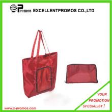 Sac à provisions pliable de polyester 210d bon marché (EP-B6226)