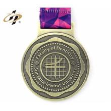 médaille catholique en gros de haute qualité en métal faite sur commande