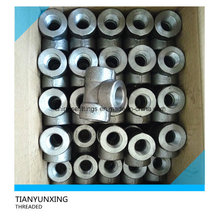 High Pressure Forged Carbon Steel Threaded Tee Threaded Fittings