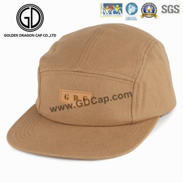 2016 New Trendy Simple Mode Chapeau Microfiber Snapback Camper Cap