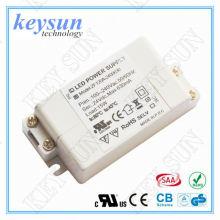 9W 12V 830mA Alimentation en courant continu à courant alternatif AC-DC avec CE