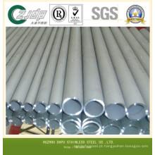 202 Grau de aço inoxidável Tubo sem costura Fabricante