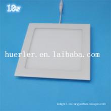 Shenzhen Hersteller Innenanwendung 100-240v 220v 240v quadratischen / runden LED-Deckenleuchte 18w führte Panel Licht Preis