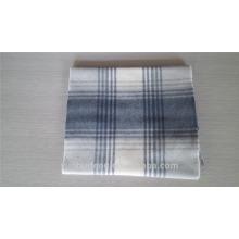 Bufandas de lana comprobadas populares con precio de fábrica