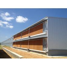 Antikorrosions-Stahlstruktur-Geflügel-Haus / Henne-Haus (KXD-PCH11)