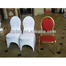 Cheap wedding chair covers,spandex stretch used banquet chair covers