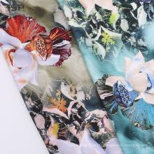 Tissu teint imprimé numérique teinté rayonne