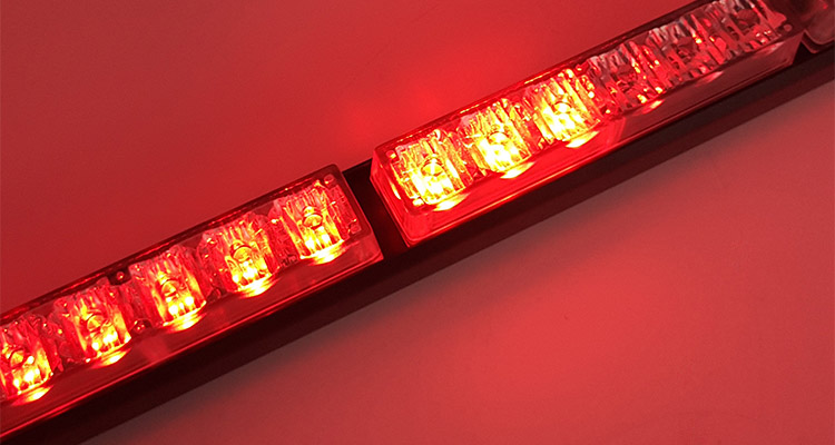 red flashing led light bar