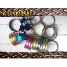 Entretoise de pièces/casque cycliste, 5mm, 10mm, 15mm, 20mm, 25mm, 30mm, dans différentes couleurs