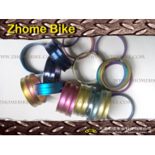 Велосипедов части/гарнитуры Spacer, 5 мм, 10 мм, 15 мм, 20 мм, 25 мм, 30 мм, разных цветов